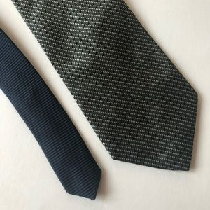 Tommy Hilfiger Silk Tie Green Gold Navy EUC